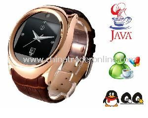 1.6 Inch GSM Watch Mobile Phone with MP3/MP4+Secret Video