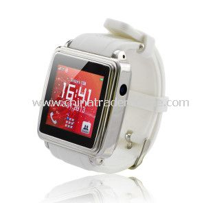 2014 Newest Bluetooth Phone Watch with MP3/MP4 Player from China