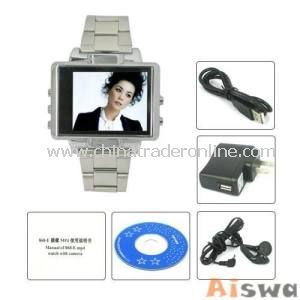 2GB 1.8 Inch Watch Luxurious Buckle MP4 Watch - Alarm Function