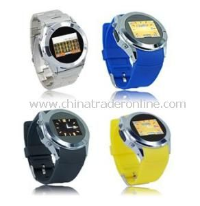 FM Watch Mobile Phone, MP3/MP4 Watch Mobile Phone, Touch Screen Watch Phone from China