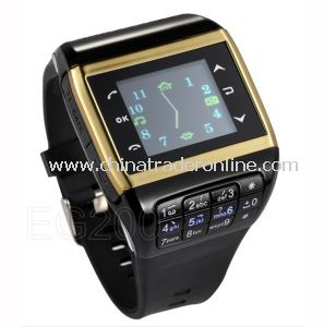 MP4 /MP3 Player Watch Mobile Phone with Keyboard