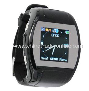 Quad-Band 1.5 Inch Touch Handwriting Watch Cell Phone with MP3/MP4