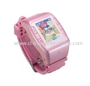 Top Voice High Technology Compass FM MP4 First Watch Mobile Phone