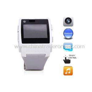 Waterproof H2 Wrist Touch Screen Watch Phone Bluetooth MP3/MP4