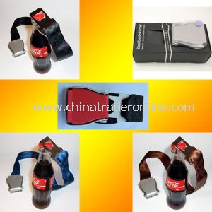 Airplane Fashion Belt with Beer Bottle Opener