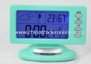 Big LCD Display Clock Desktop Electronic Clock