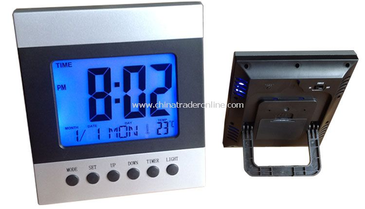 Big Screen LCD Clock
