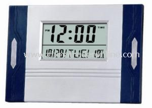 Desk LCD Clock from China
