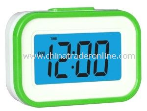 Desktop Electronic Clock Backlit LCD Clock Display LCD Electronic Clock