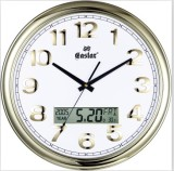 LCD Digital Wall Clock