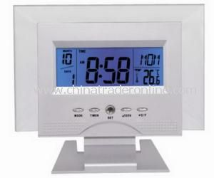LCD Table Clock