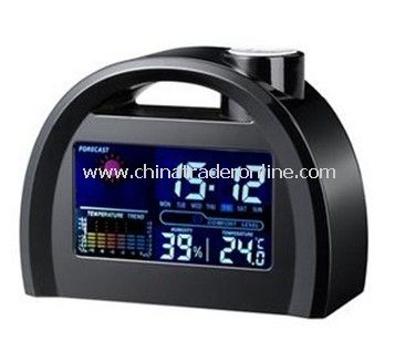 LCD Weather Station Table Clock from China