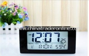 Provide Electronic Clock, Fashion LCD Alarm Clock