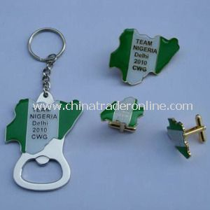 Custom Designed Dog Tag Bottle Opener Keychain