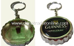 Fashion Bottle Opener Keychain