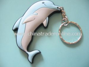Gift/Cute Dolphin Metal Bottle Opener Keychain for Nocelty Promotional Items