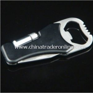 Metal Bottle Opener Keychains with Multi-Tool, Ideal for Promotional Gifts, OEM Order Are Accepted