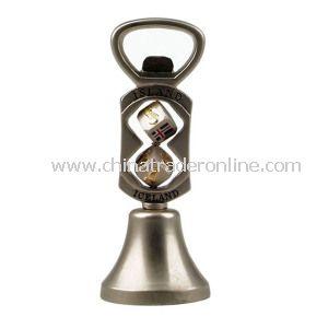 Metal Bottle Opener with Keychain