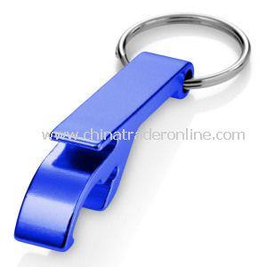 Metal Keychain with Bottle Opener
