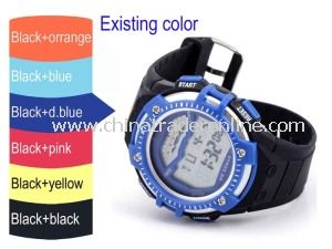 China Hot Silicone Digital Watch for Men