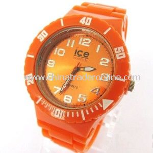 Fashion Multi Color Silicone Ice Watch for Men and Women