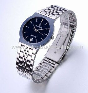 Promotion Fashion Matal Watches for Men, Stainless Steel Band, 3ATM Waterproof, OEM Orders Are Welcome