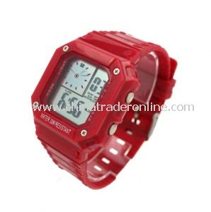 TPU Fashion Sport Digital Watch for Men