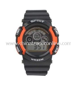 High Quality Plastic Digital Men Watches