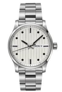 Popular Stainless Steel Case Quartz Wrist Watch for Man