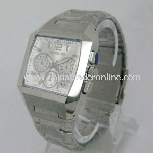 Stainless Steel Mens Watch from China