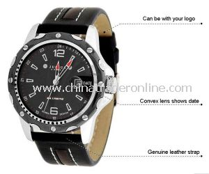 Top Quality Men Leather Watches