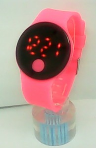 Silicone LED Watch Fashion Silicon Watches Ladies New Types Watch from China