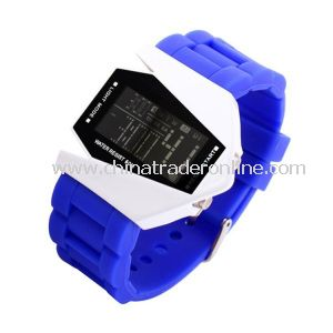 Creative and Multifunctional LED Plane Electronic Watch with Alarm