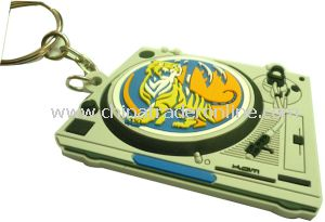 3D Plastic Keychain