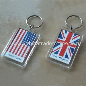 Acrylic Keychain With Cover from China