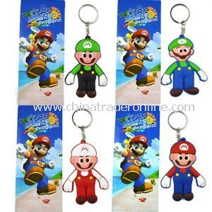 Cute Plastic Keychain, Customized Key Chain, Diverse Plastic Keychain
