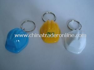 New Design Keychain with Mini Safety Helmet