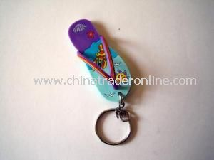 Plastic Keychain from China