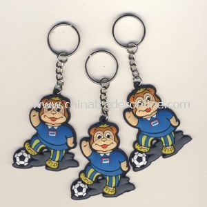 Plastic Sports Keychain for Promotion Gifts/Keychain for Joy