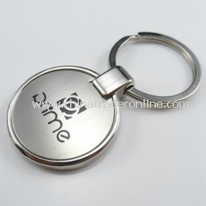 Promotional Laser Metal Keychain