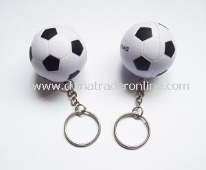 PU Football Keychain from China