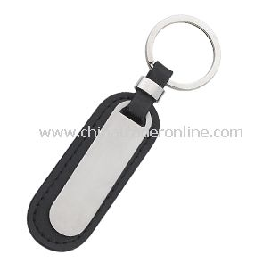 PU Leather Metal Keychain from China