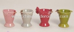 Egg Cups for Children, Ceramic Animal Egg Cup, Ceramic Animal Egg Cup