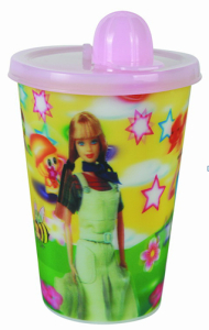 3D Plastic Drinking Cup Lid, 3D Cup