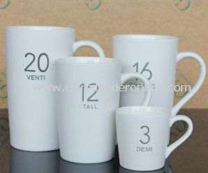 Coffee Porcelain Ceramic Cup/Mug for Promotion