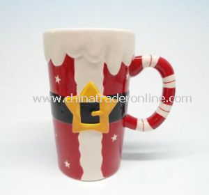 Daily Use Ceramic Christmas Santa Mug, Cup