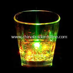 Light up Plastic Flash LED Whiskey Cup
