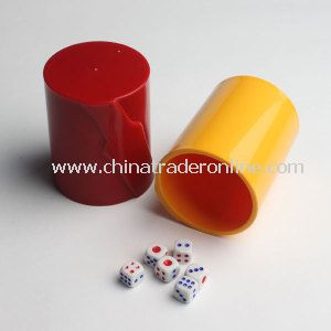 Plastic Shaker Dice Cup