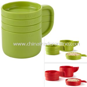 Cuppa Measuring Cup Set, Cuppa Stackable Measuring Cup Set