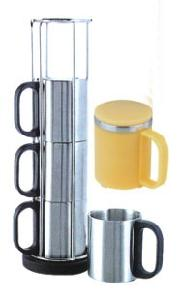 Stainless Steel Cup Gift Set